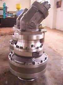 掘进机、旋挖钻机动力头总成,赛欧牌SL607系列液压马达减速机