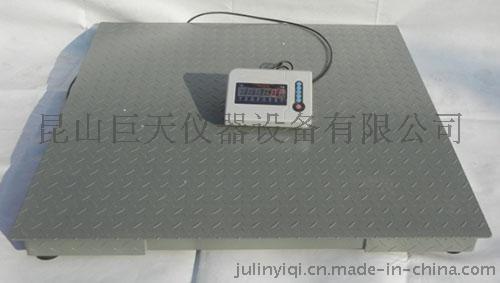 1吨1.2米*1.2米电子磅秤 1.2米*1.5米小地磅供应 定做电子地磅