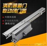 炜祥安-500锌合金联动闭门器,滑槽电动闭门器