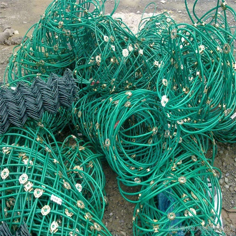 边坡植物防护 主动网gps2厂家 柔性钢丝绳网定做