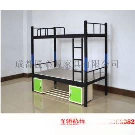 厂家直销南充学生床安全耐用+南充学生床厂家送货安装