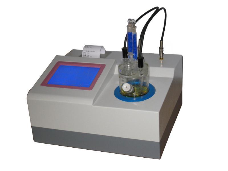 供应批发 大液晶显示触屏微量水分仪  滴定法卡尔费休水分仪