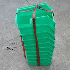 供应 150*215*120 斜口式塑料零件箱 塑料挂斗 塑料工具箱