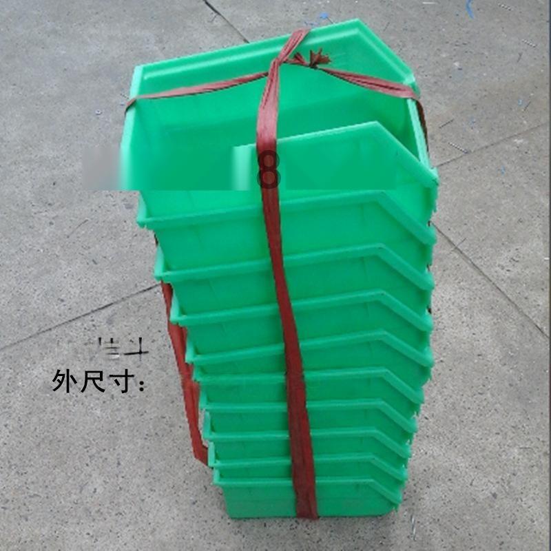 供應 150*215*120 斜口式塑料零件箱 塑料掛斗 塑料工具箱
