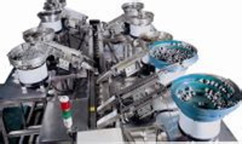 制造电子行包装机(各种电子器件包装机,配件,附件包装机