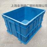 厂家直销 560*452*290 塑料周转箱 服装专用箱 物流塑料箱