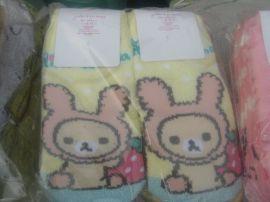 外貿純棉卡通襪