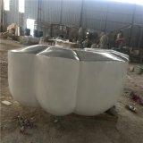 佛山玻璃钢造型雕塑厂家,玻璃钢云朵造型雕塑定制