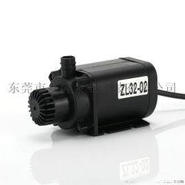 ZL32-02直流无刷微型水泵水暖床垫水泵东莞厂家