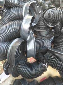 环保设备专用的油缸活塞杆防护罩,圆形活塞杆防护罩