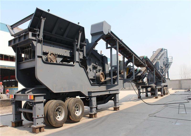 定制各型号砂石矿料破碎设备 移动式破碎站
