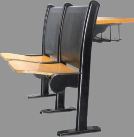 学校学生课桌椅 定做大学阶梯教室连排椅