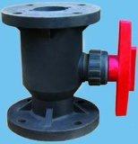 塑料法兰球阀门 FRPP增强聚丙烯DN25-DN150