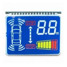 供应专业定制倒车雷达LCD液晶屏