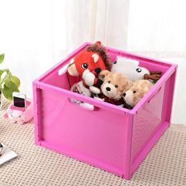 嘉百思多功能收纳箱塑料整理箱收纳盒储物箱 滑轮组合杂物收纳箱