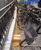 非机动车停车架螺旋式和卡位式自行车停车架的区别