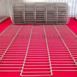 薯片输送网带 不锈钢乙型网带 折弯网带 优质一字网304不锈钢材质