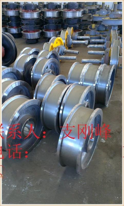 L324/L325 Ø500*150轴承3524车轮组,行车轮,角箱轮,车轮厂家