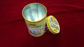 品牌圣诞礼品铁罐 埃菲尔铁塔礼品圆形包装铁罐 品牌礼品包装罐 圆形礼品铁罐包装