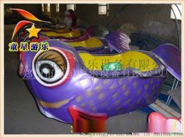 童星游乐优质创业项目的鲤鱼跳龙门广场新型游乐设备