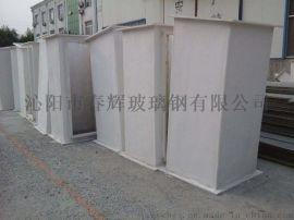 厂家生产玻璃钢无机风筒 通风管道