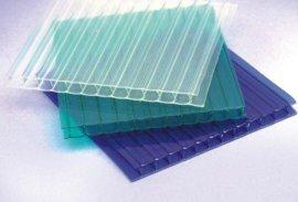隔热PC阳光板 中空板 半字型阳光板 上海半字型结构阳光板玻璃钢采光板