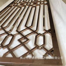 广东酒店不锈钢镂空雕刻护栏厂家  酒店不锈钢护栏工程立柱