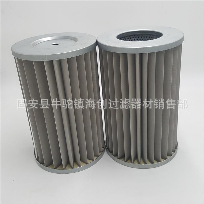 厂家直销 G3.5/G4/G5/G6不锈钢天然气管道过滤器滤芯 不锈钢折叠