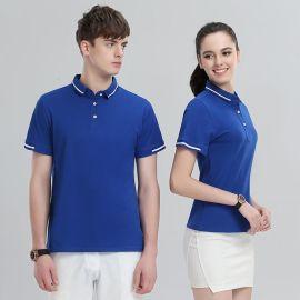 夏季翻领T恤男女运动POLO衫上衣半袖保罗短袖工作服T恤定制logo