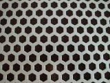 冲孔网深加工 六角形音响外壳消音散热冲孔板 河北安平专业冲孔