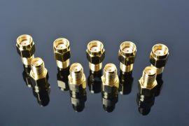 射频同轴连接器 SMA-IPEX接1.13mm同轴线SMB.BNC.TNC.SM.CN.型