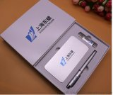 上海商务套餐礼品定制移动电源+U盘+笔定制logo