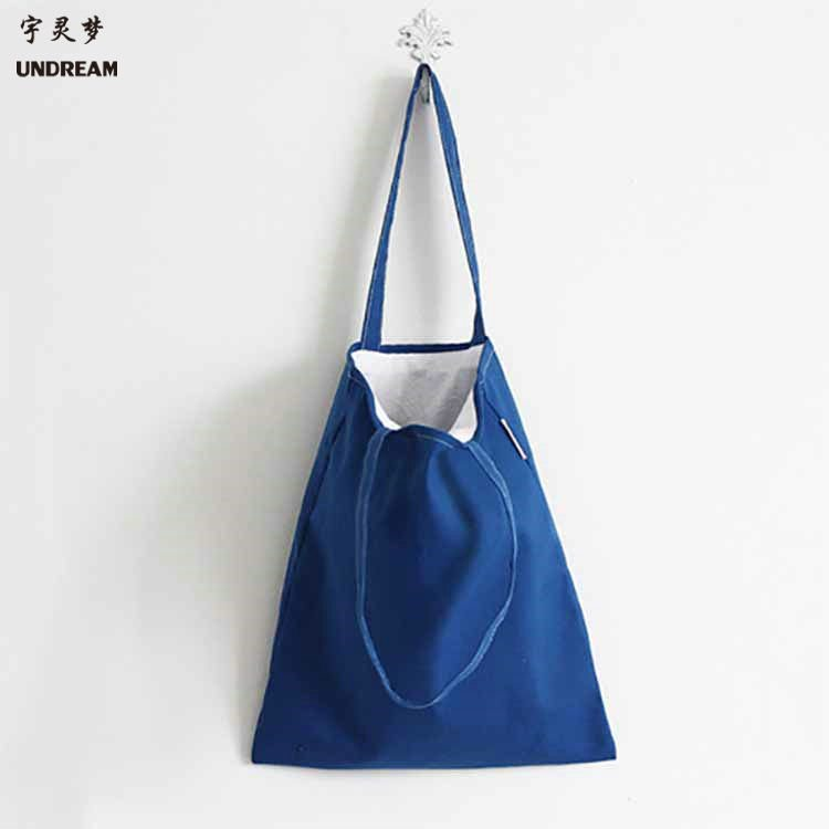 圣诞节创意彩色帆布礼品袋 日本购物袋 数码印全棉帆布袋订购