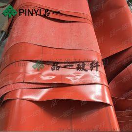 厂家直销硅橡胶布 品一硅胶布高温型硅胶防火布