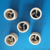 陶瓷鲍尔环填料 50mm耐酸耐高温陶瓷填料
