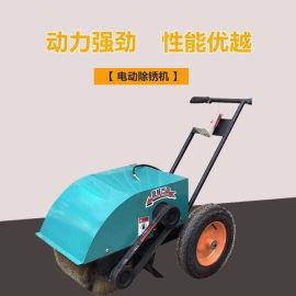 手推式汽油除锈机 多功能彩钢瓦除锈机快速打磨除锈机