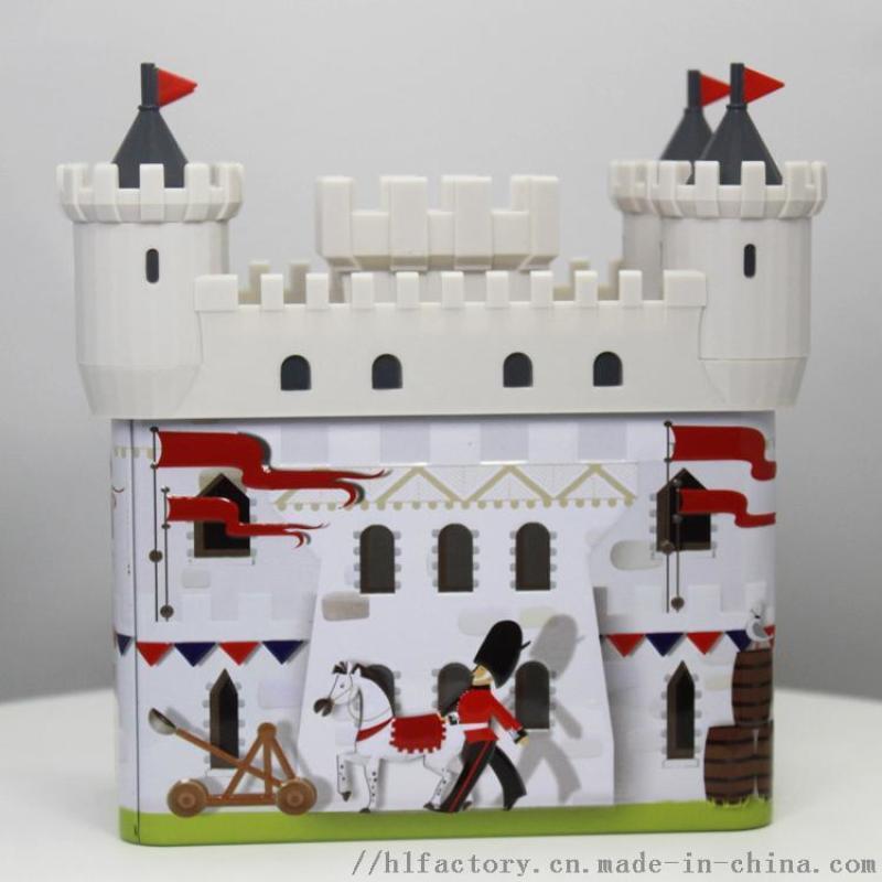 创意家居城堡存钱罐小摆件室内