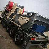 可移動式石料破碎機 煤矸石粉碎機建築垃圾破碎機設備