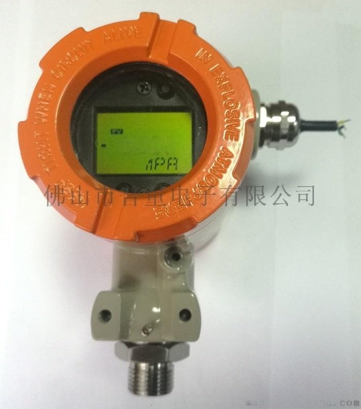 低功耗数显压力表电池供电