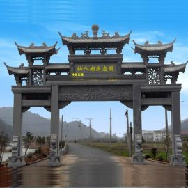 青海海東民和農村石牌坊, 鄉村牌坊, 石牌樓生產