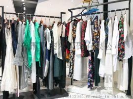 深圳一线知名潮牌银色经典品牌女装直播货源折扣走份