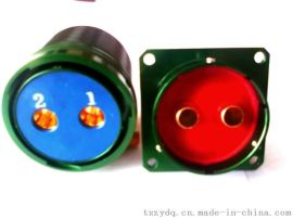 泰兴宇航制造2芯 200A 圆形电连接器