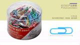 OfficeMate办公伙伴欧标彩色回形针