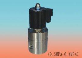 不锈钢二位二通**直动先导活塞式高压电磁阀