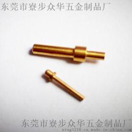 圆Pin针,实心针,镀铜,镀金