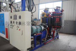 供应 保温管道聚氨酯发泡生产设备 聚氨酯高压发泡机小型发泡机