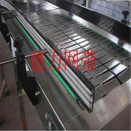 不锈钢链板线输送机 清洗线冲孔链板输送机