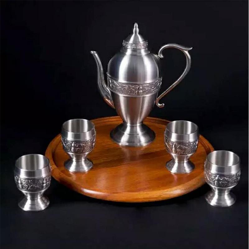 泰国锡器 宝葫芦酒具 商务 友情 艺术 收藏  赠礼