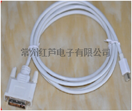 Mini DP to VGA 转接线