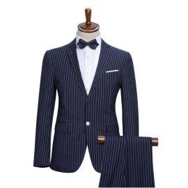 海丰职业装西服工厂 承接量身订做修身团体职业装西服加工